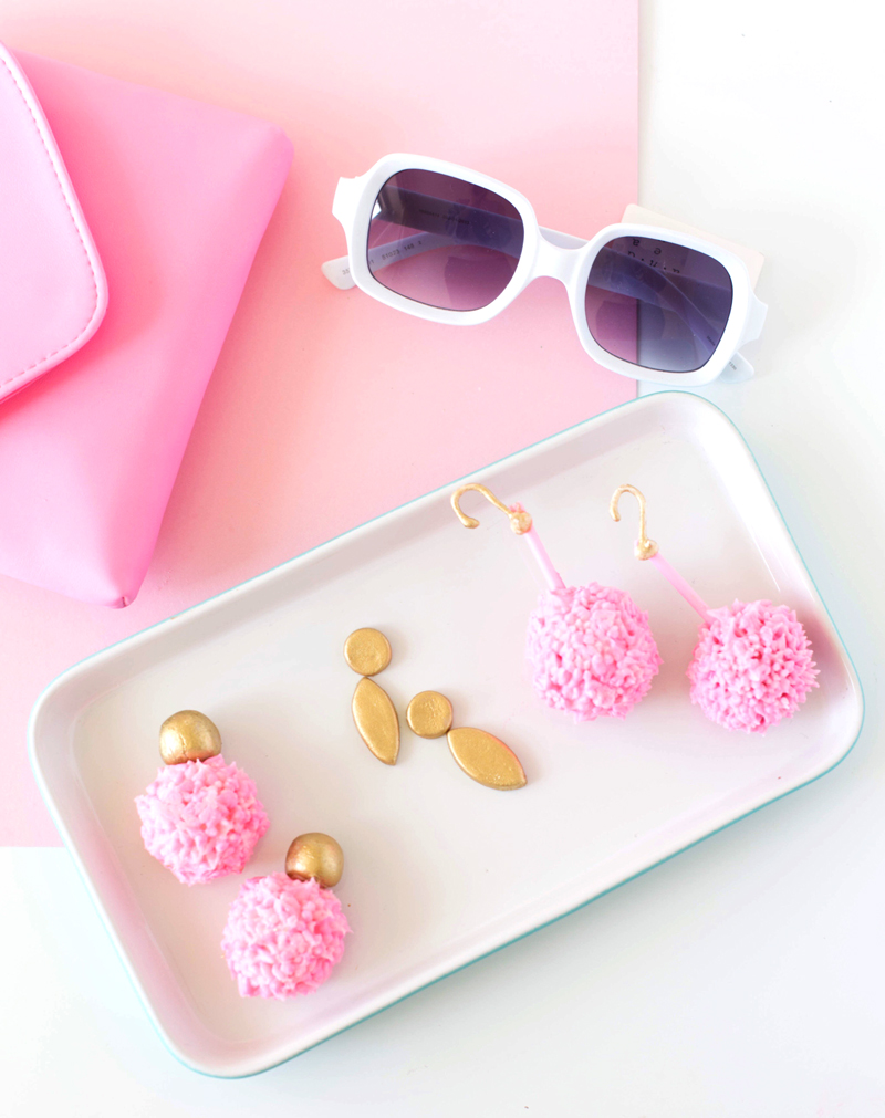 Statement Earring Fashion Cupcake