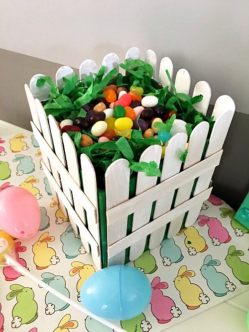 jelly bean easter basket