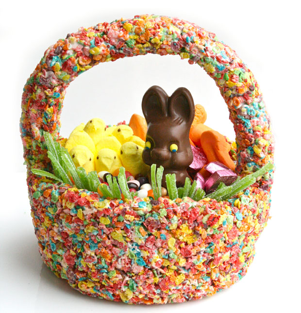 Easter basket 35 creative ideas a subtle revelry edible easter basket negle Image collections