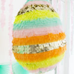 Easter basket pinata