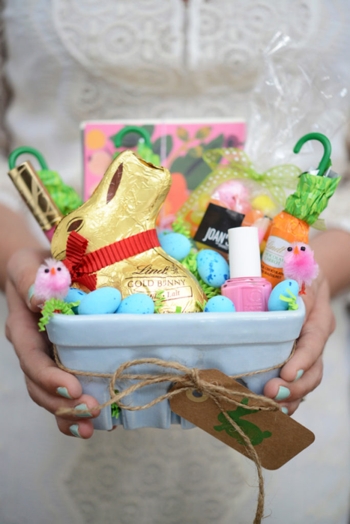 Easter basket 35 creative ideas a subtle revelry homemade easter basket negle Choice Image