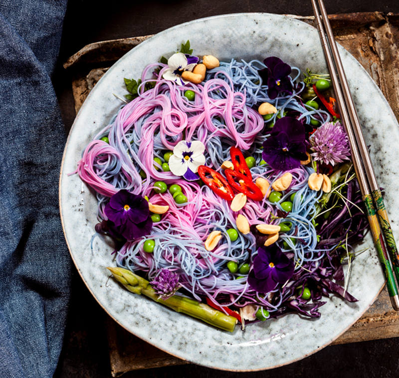 Colored Glass Noodles