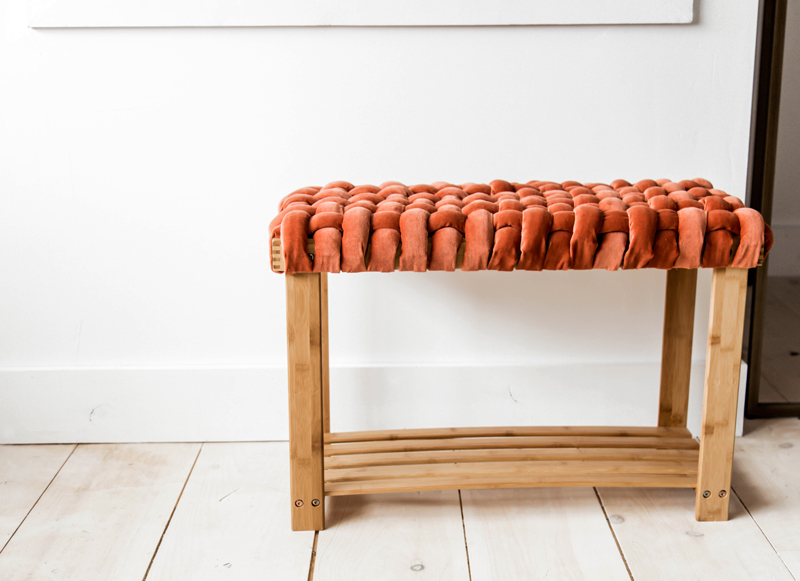 How to make a wooden bench