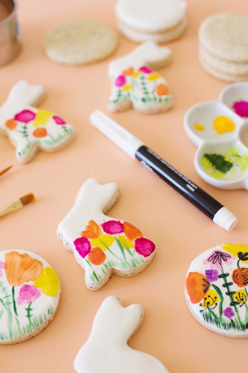 How to watercolor cookies