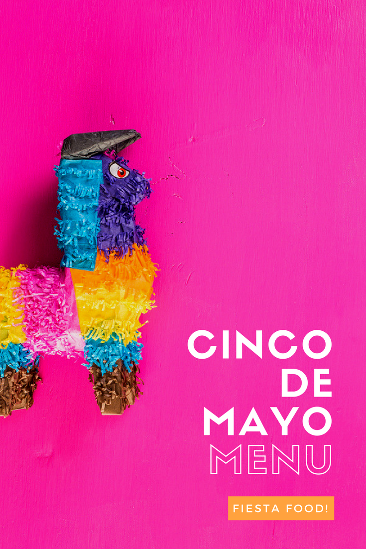 Cinco De Mayo Menu