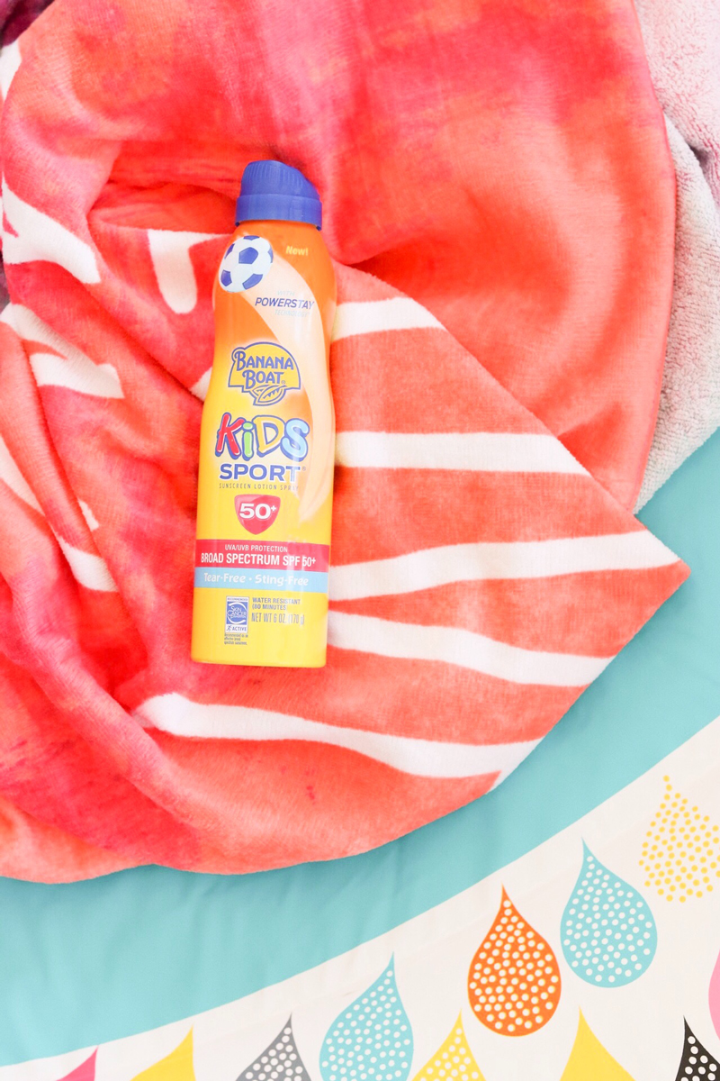 banana boat spray sunscreen