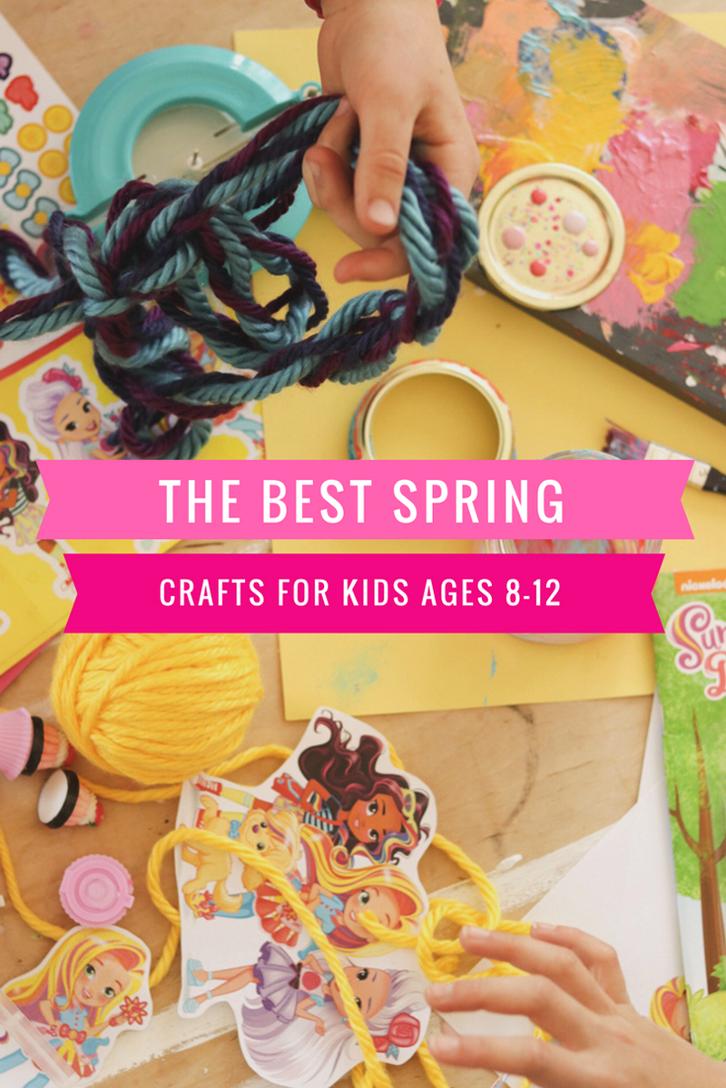 The best spring crafts for kids ages 8-12