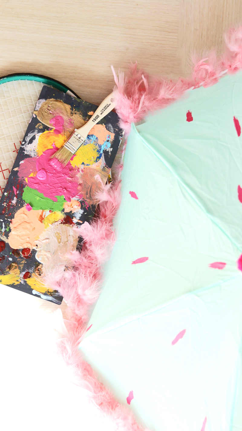 Colorful DIY Umbrella