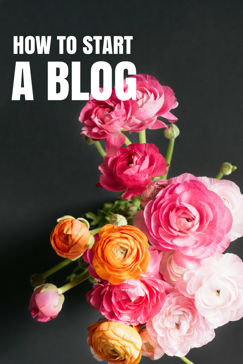 How To Start A Blog - 10 easy steps!