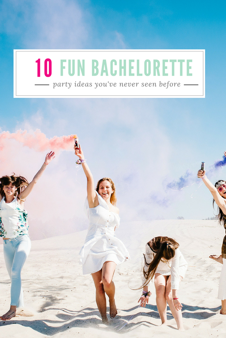 10 Fun Bachelorette Party Ideas