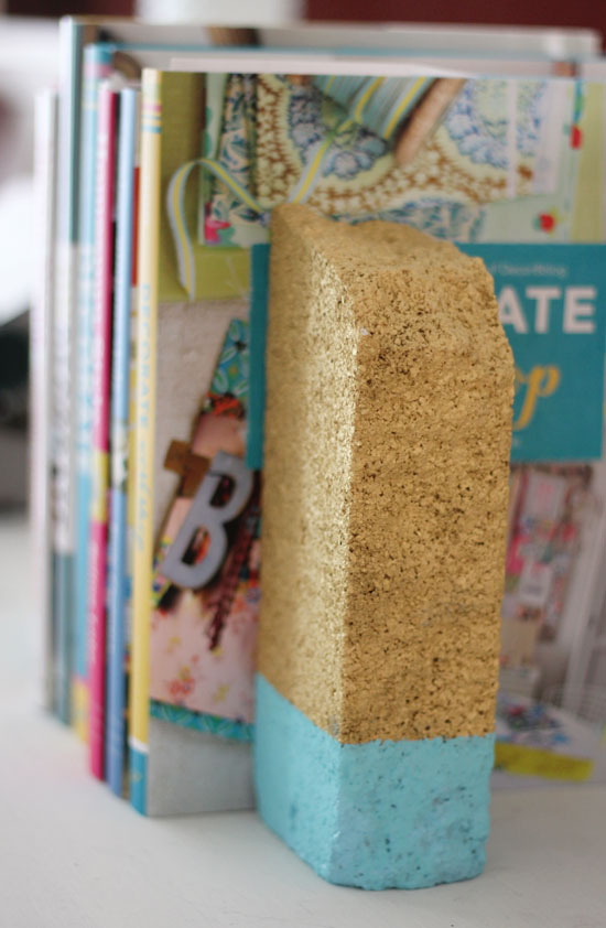 diy book ends