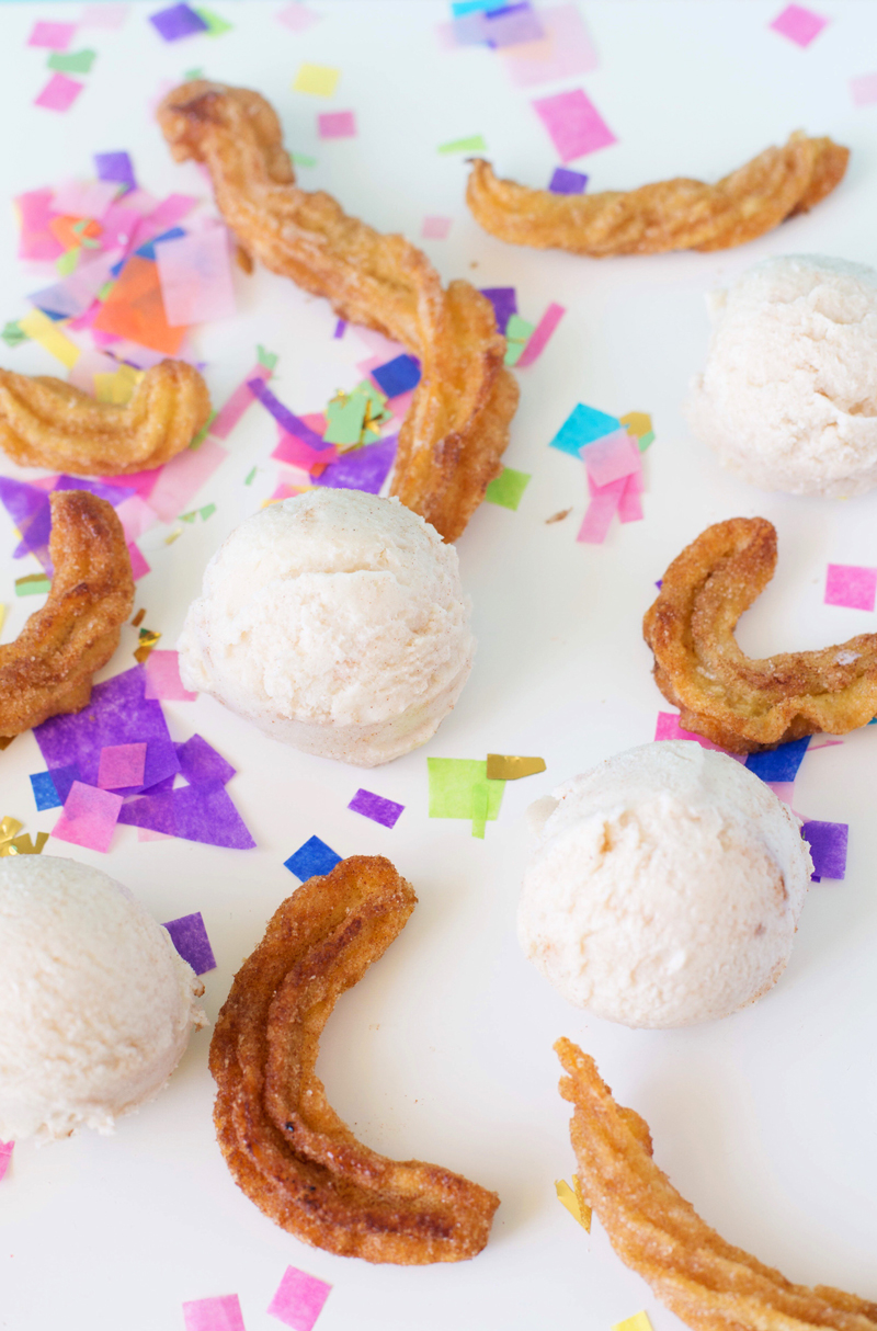 Churro Ice Cream Recipe