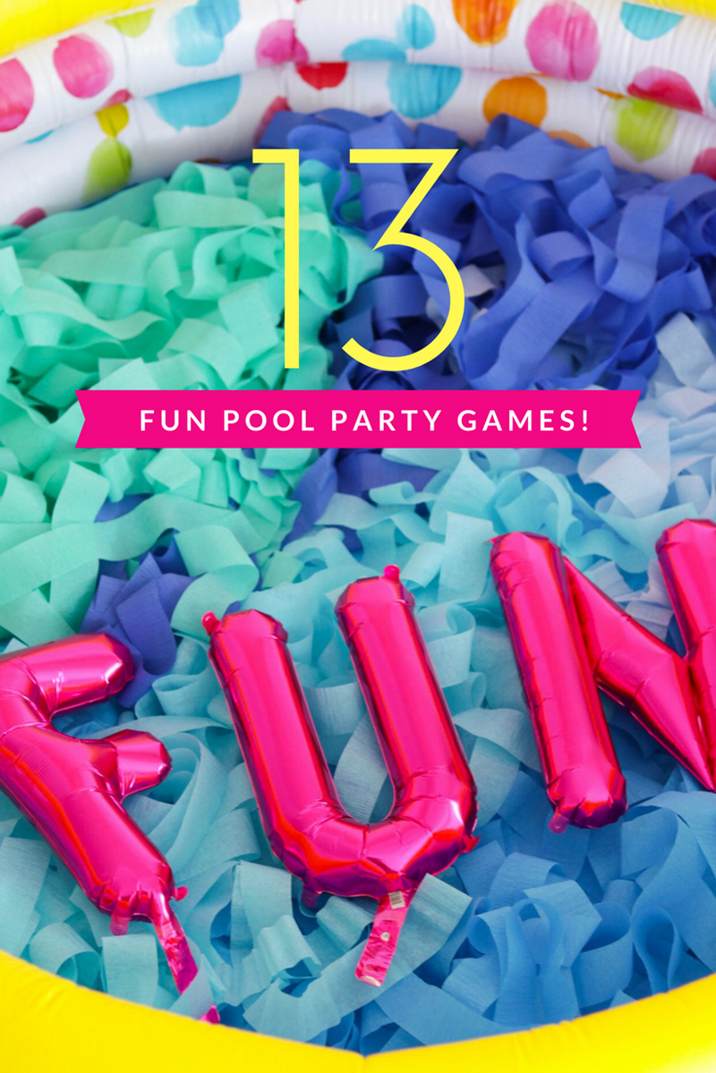 d2fee97b58a 13 Pool Party Games You've Never Seen Before • A Subtle Revelry