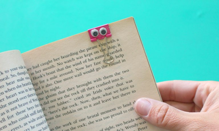 DIY book crafts