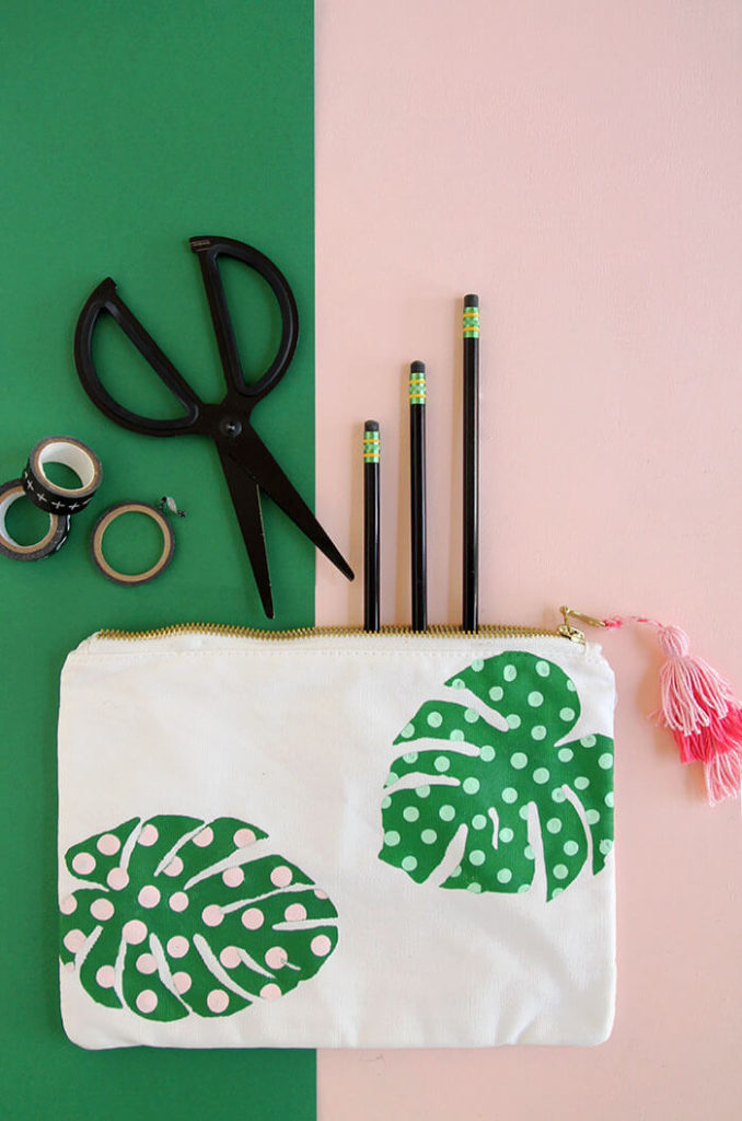 DIY school desk supplies