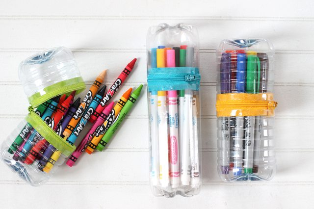 Back to school supplies made at home