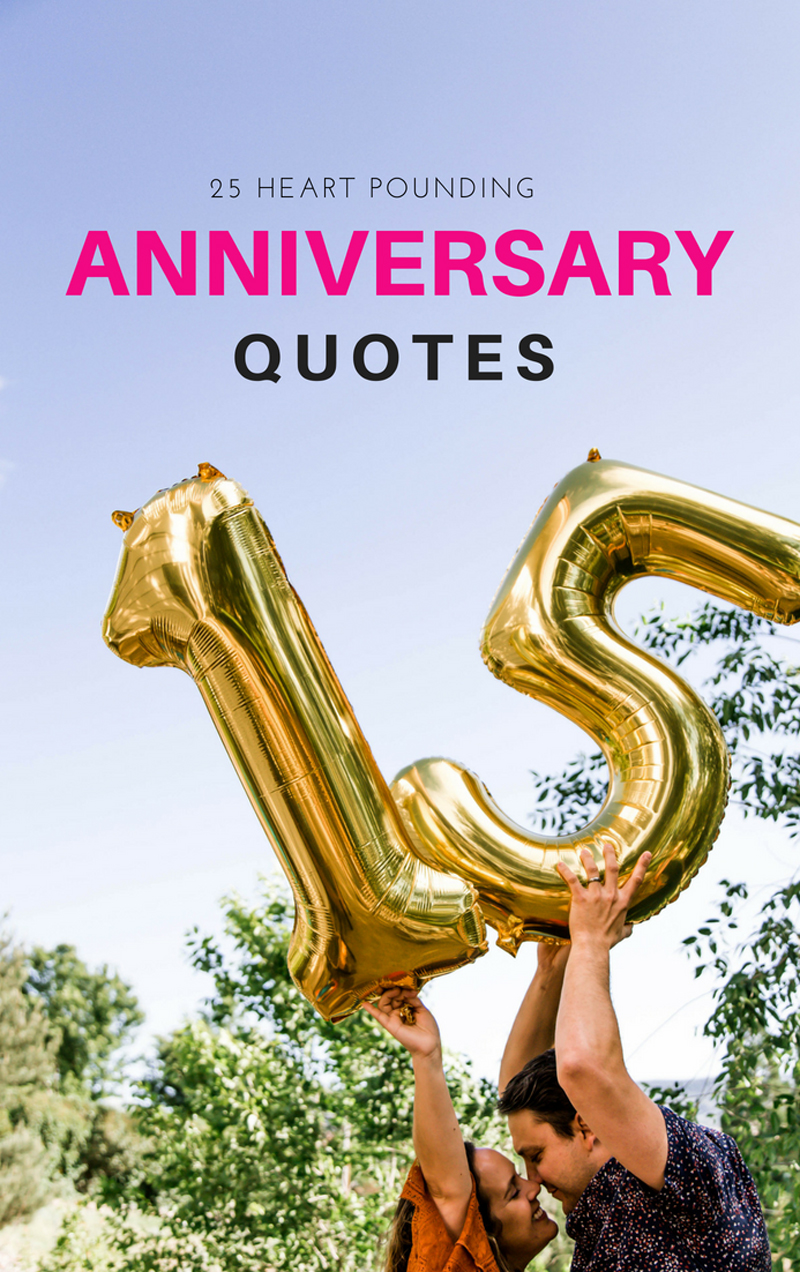 15+ Happy Wedding Anniversary Quotes To Make Your Heart ...