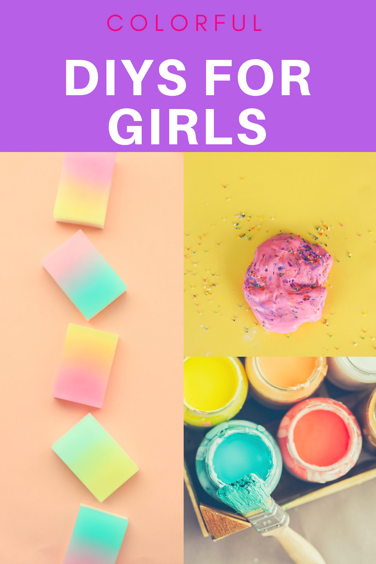 diys for girls to make - 25 colorful ideas • a subtle revelry