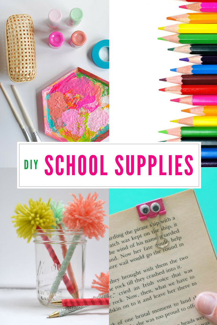 18 DIY School Supplies