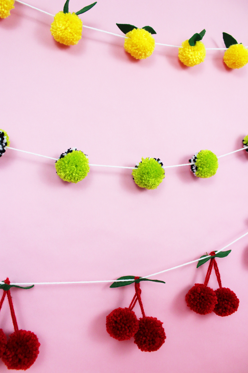 6 Steps For The Best Diy Pom Pom Garland A Subtle Revelry