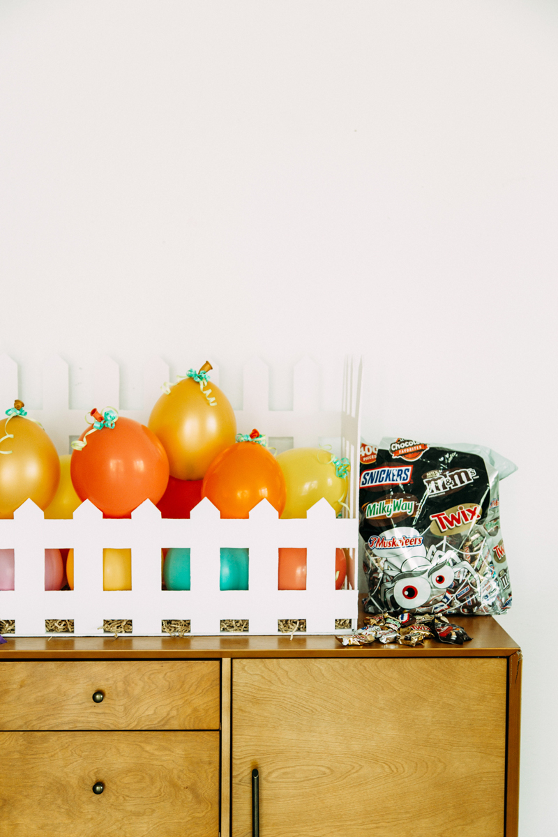 The best candy for filling balloons