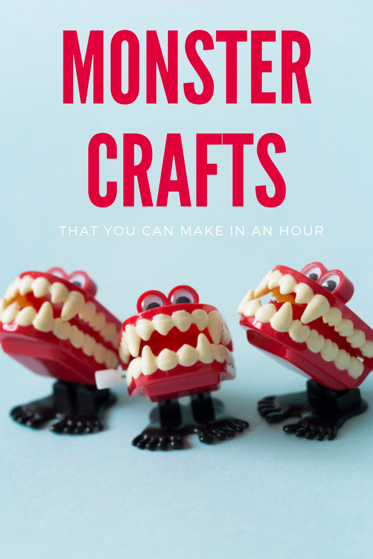 Monster crafts you can make in an hour