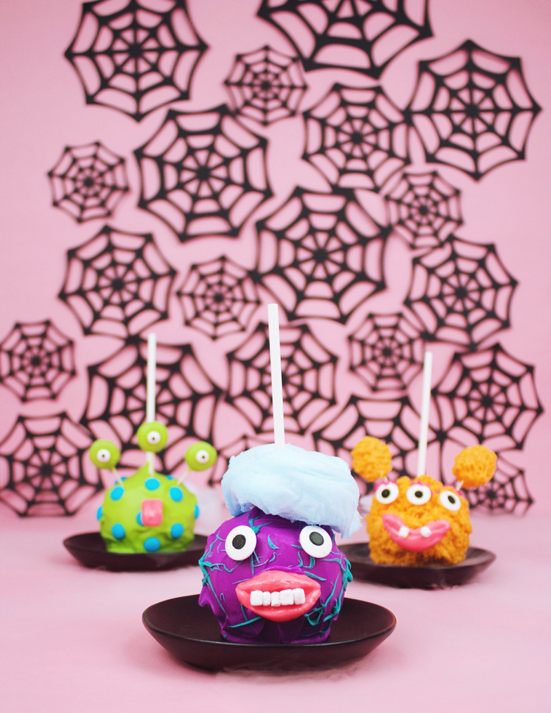 Hilarious Monster candy apples