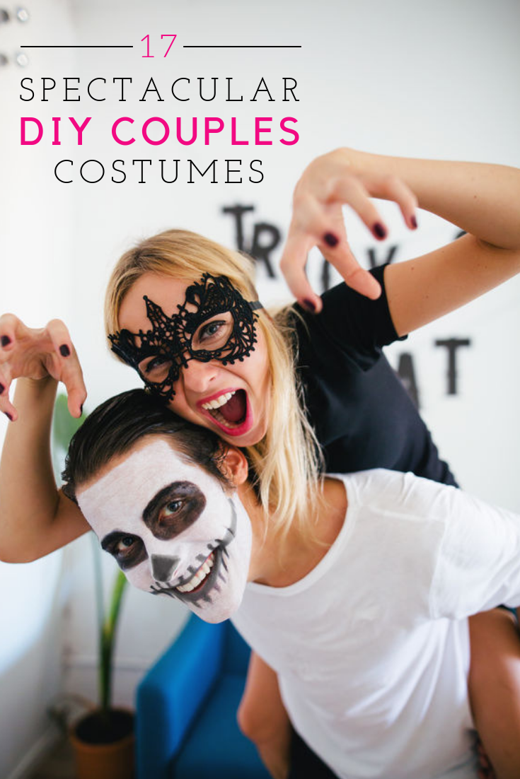 17 DIY couples costumes that your mom would be proud of!