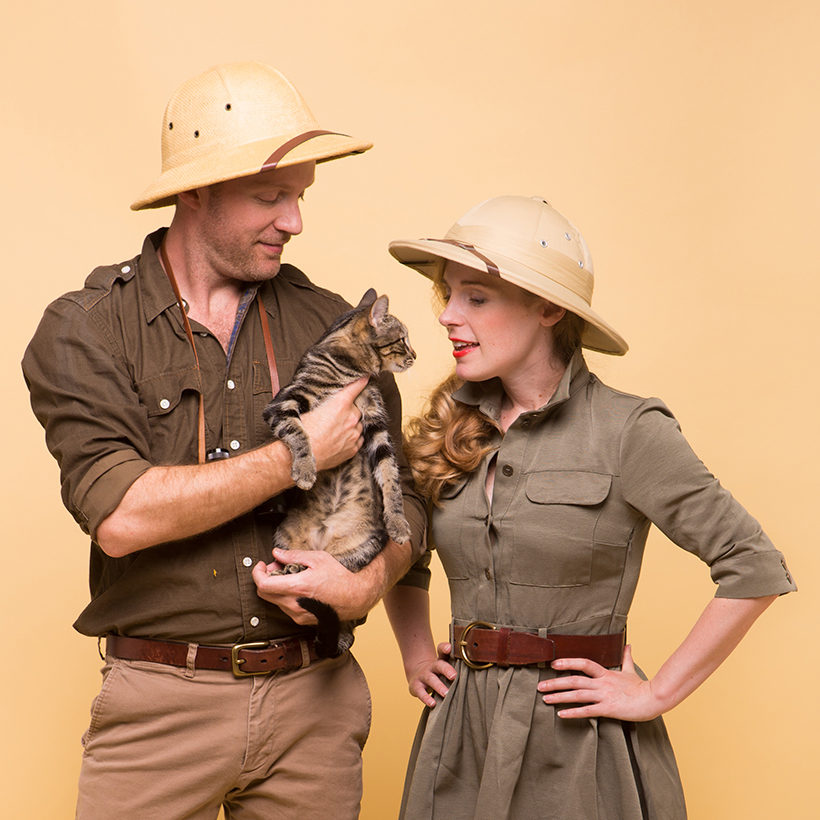 couples costume ideas with animals