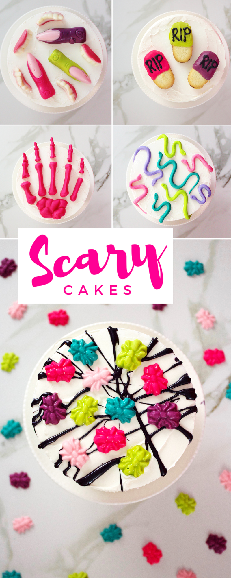Scary Cakes For Halloween