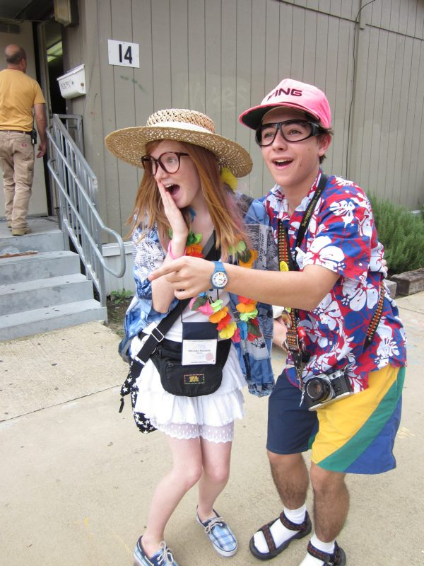 Funny DUY couples costumes