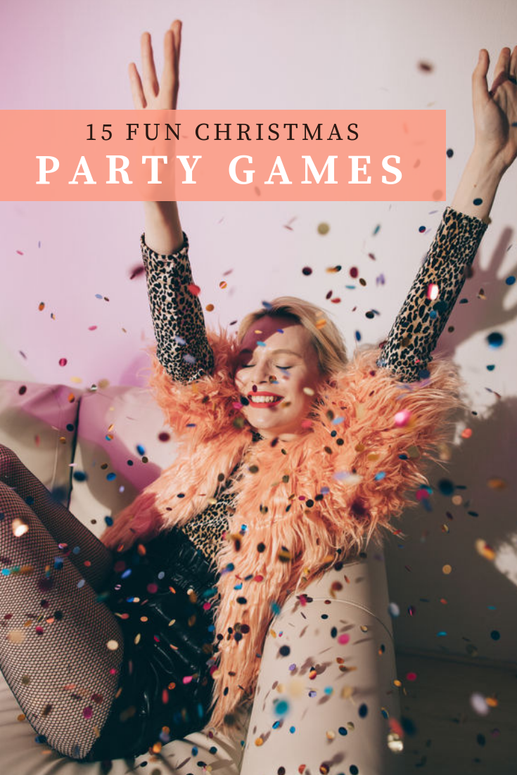 15 fun Christmas party games