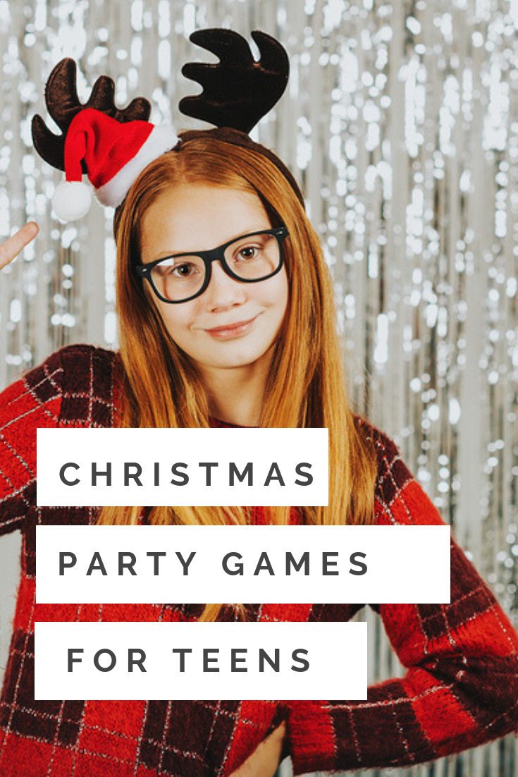 15 Fun Christmas party games for teens