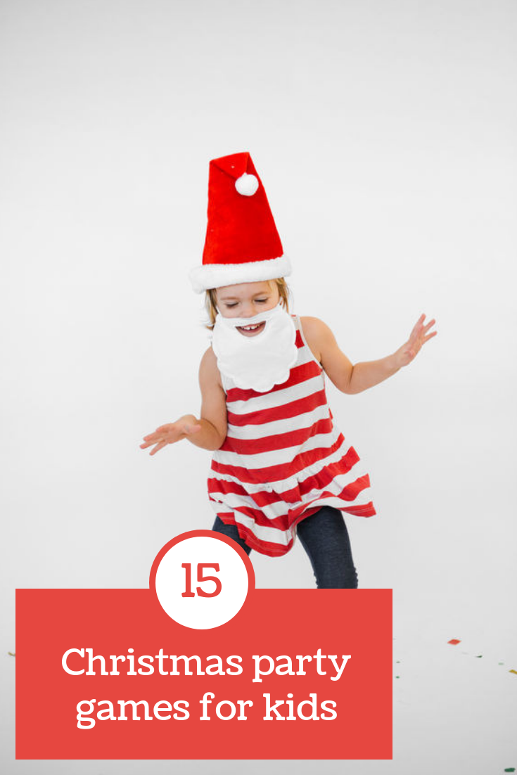 15 Christmas party games for kids