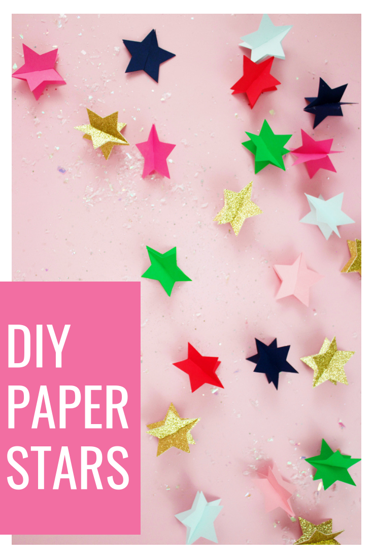 How To make A Christmas Star With Paper DIY