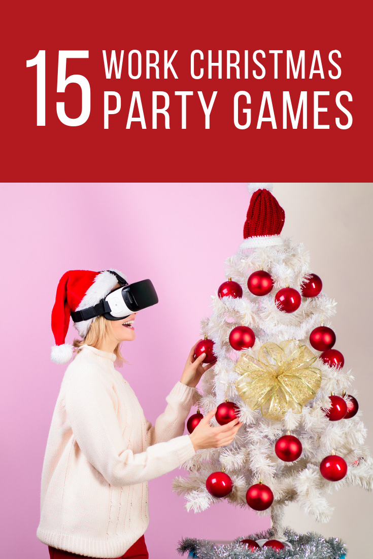 Christmas party games for adults at work