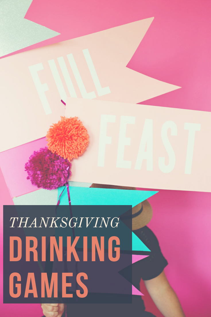Thanksgiving drinking games