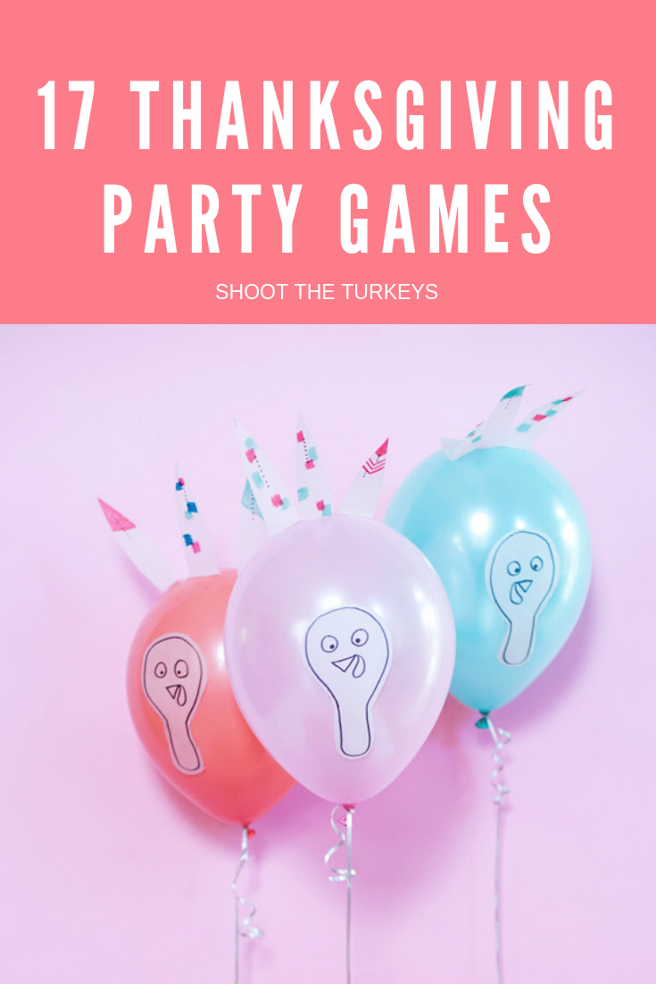 17 Thanksgiving party games