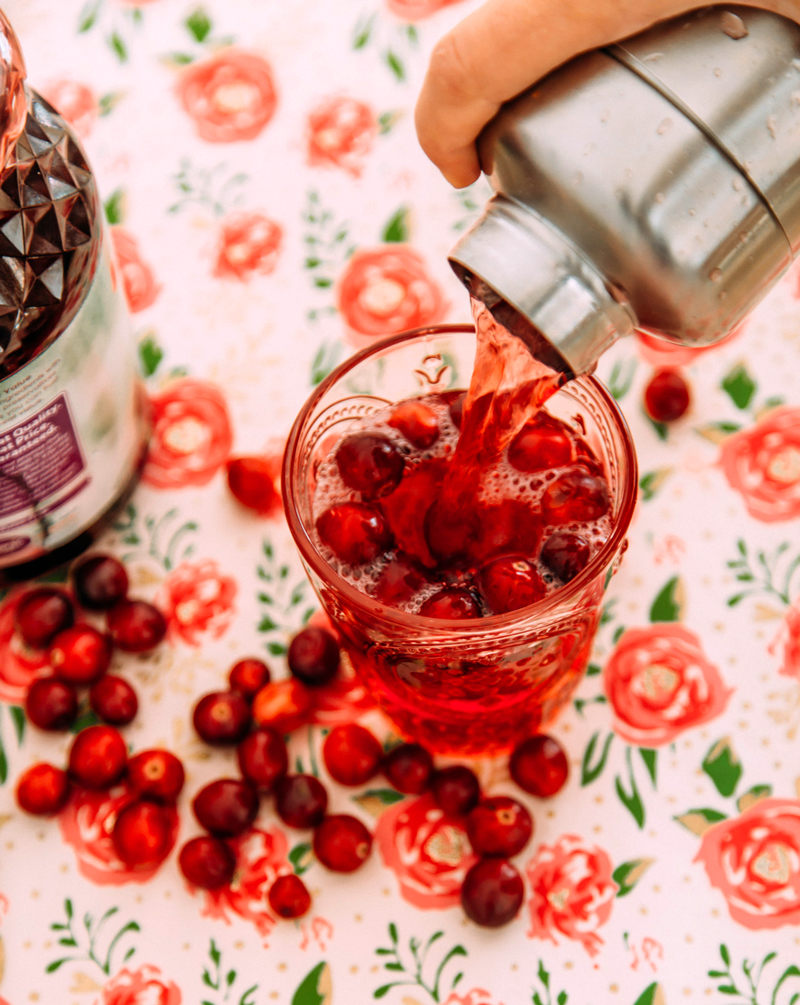 Traditional Cranberry Margarita recipe