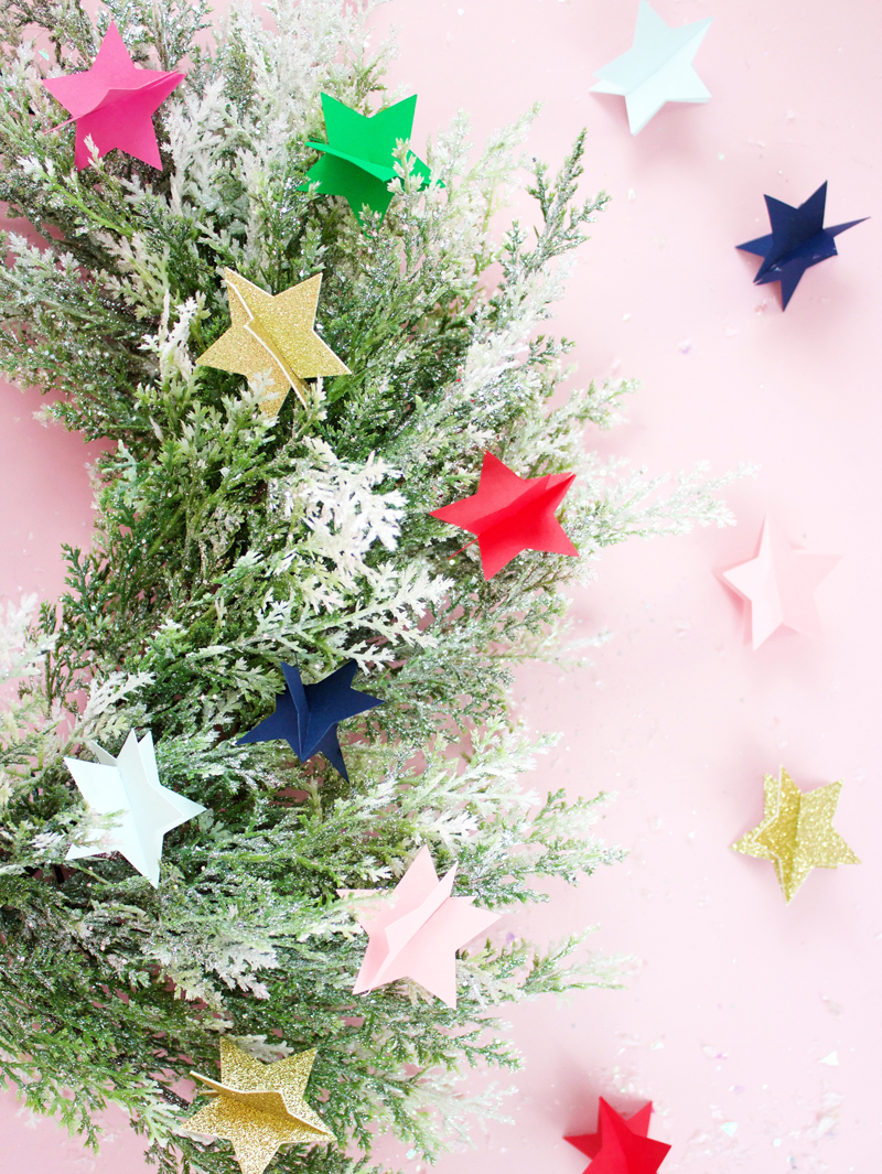 DIY Christmas Stars With Paper