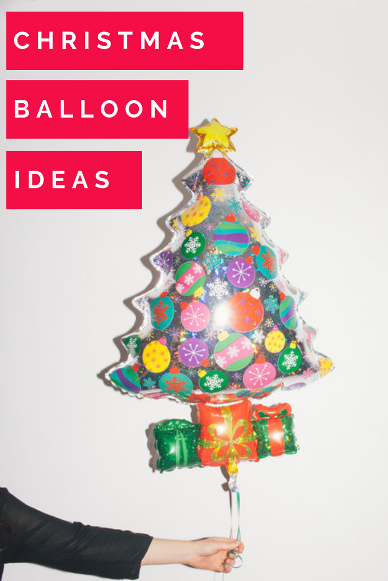 Christmas Tree Balloon.13 Balloon Decoration Ideas For Christmas A Subtle Revelry