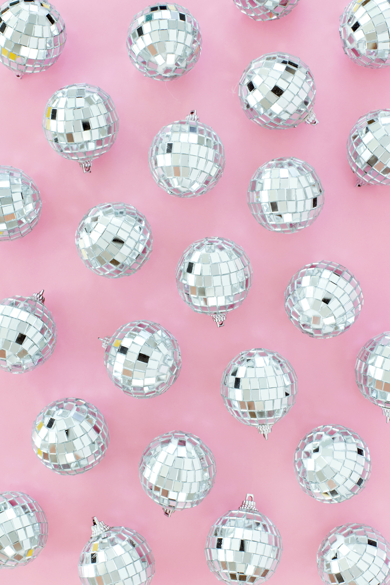 Disco Ball New Years party decor