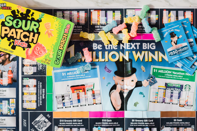 Safeways MONOPOLY Collect & Win game