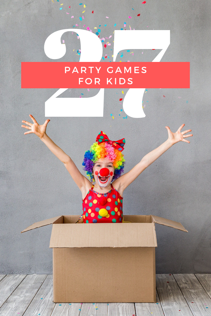 party games for kids
