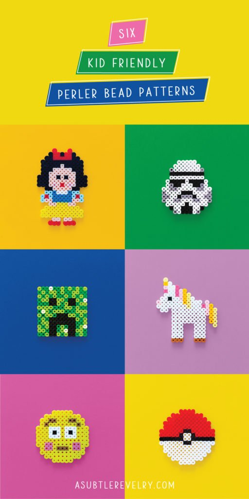 Kid Friendly Perler Bead patterns