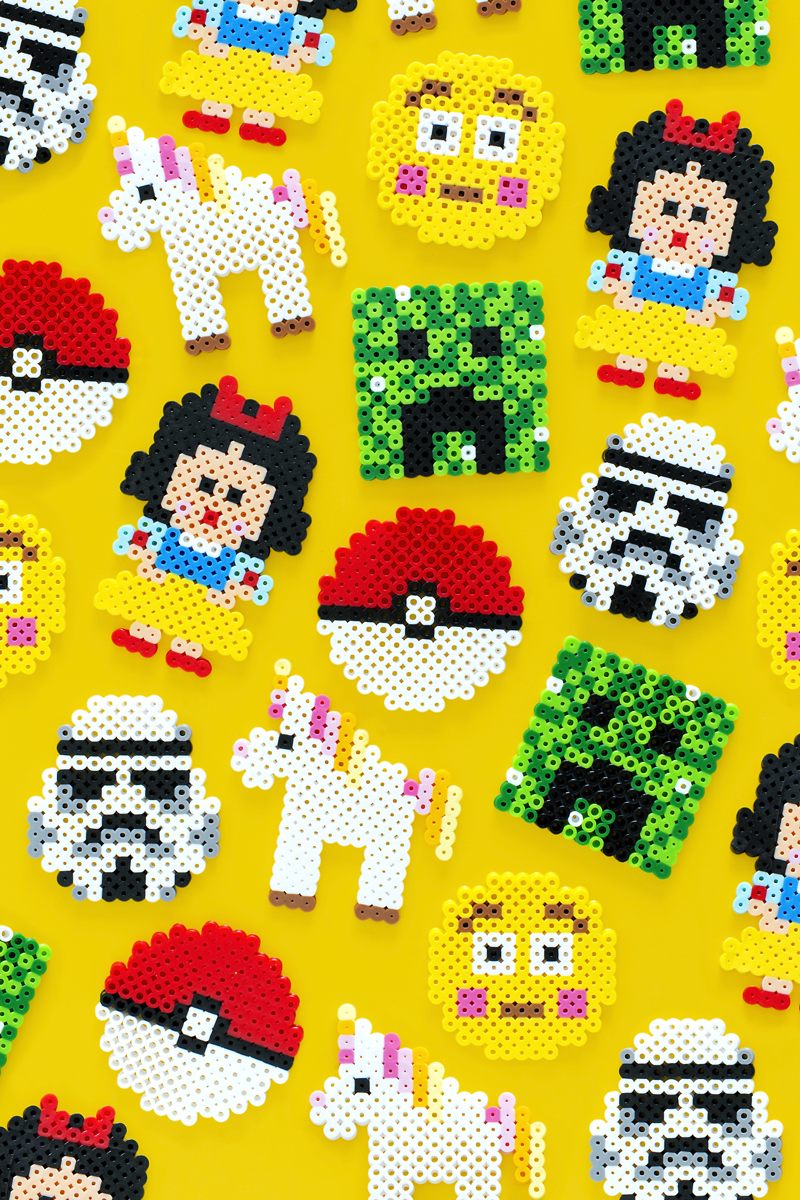 Kid Friendly Perler Bead Designs