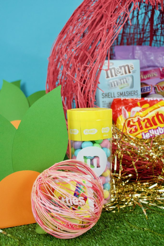 Mini balloon easter basket