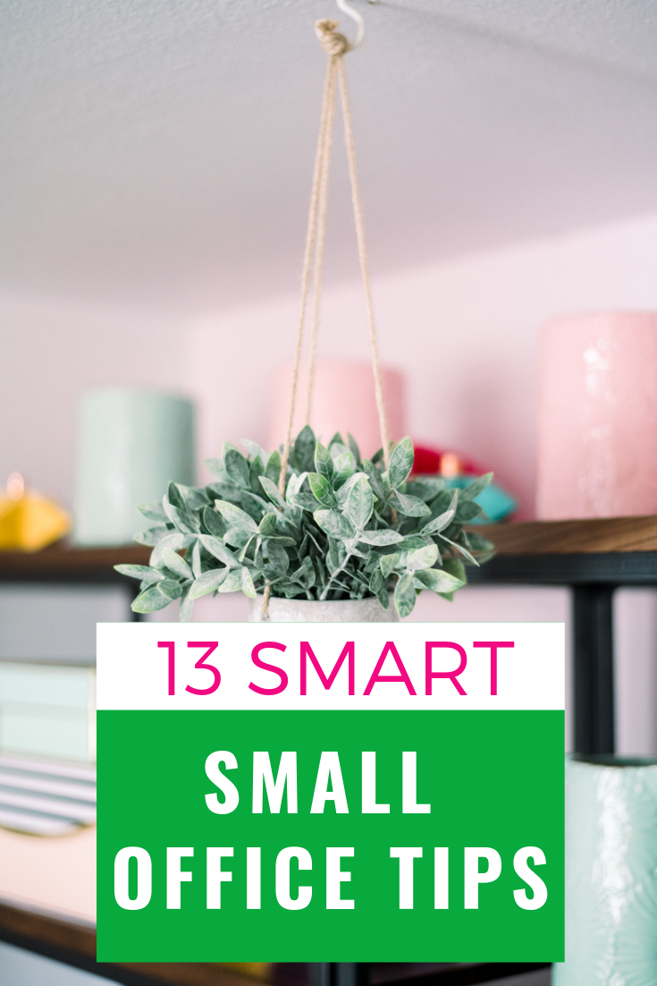 13 smart small office tips for storage and decorating