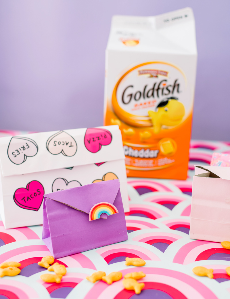 Travel snack ideas with goldfish