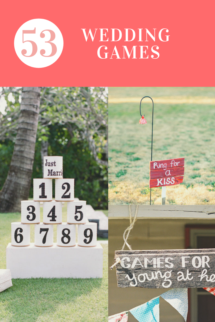 53 Wedding Games to make your special day more fun